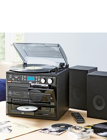 Full Function 5 In 1 Music Centre With Digital Record Facility and D A B