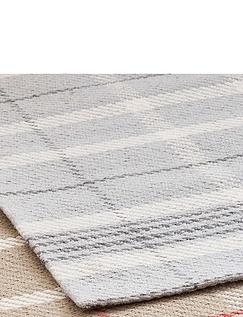 Pure Wool Tartan Rug