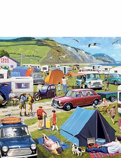 Camping and Caravanning 1000 Pc Jigsaw