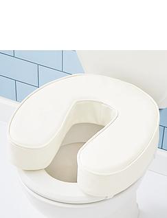Padded Raised Toilet Seat