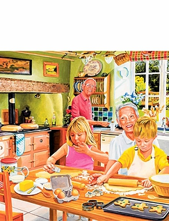Fun Filled Days Boxed Set of Jigsaw Puzzles