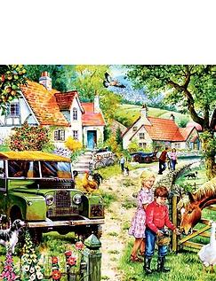 Orchard Farm Jigsaw Puzzle