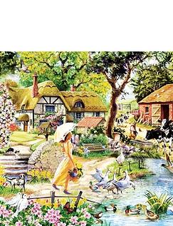 Summer Stroll Jigsaw Puzzle