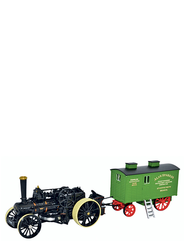 Fowler B B 1 Ploughing Engine and Living Wagon
