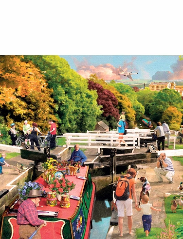 Boating Days Boxed Set of Jigsaw Puzzles
