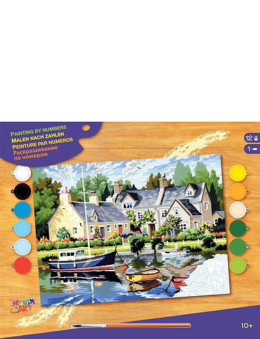 Tranquil Waters Paint by Numbers Kit