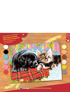 New Friends Paint by Numbers Kit