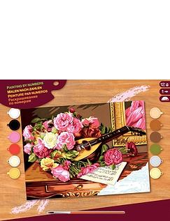 Romantic Bouquet Paint by Numbers Kit
