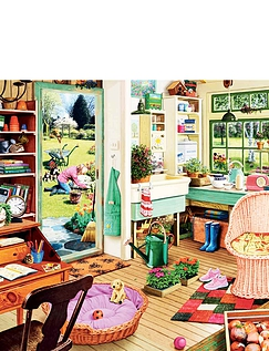 The Gardeners Shed Jigsaw Puzzle
