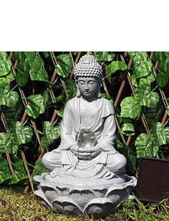 Solar Buddha Water Feature