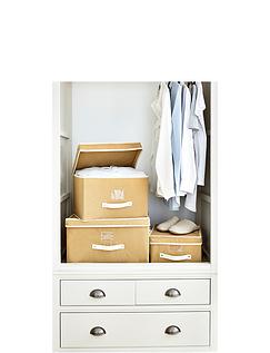 Three Piece Flat Pack Storage Set
