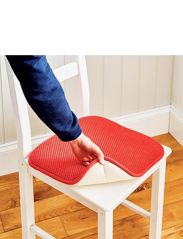 Slip Resist Memory Foam Seat Pads Set of 2