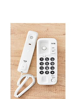 Two Piece Big Button Telephone