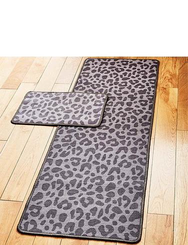 Leopard Print Utility Mat