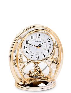 Rhythm Oval Mantel Clock