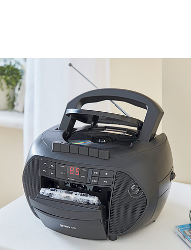 3-in-1  Portable Radio.Cassette/CD player