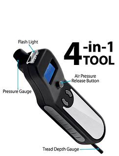 4 in 1 Digital Tyre Pressure Gauge