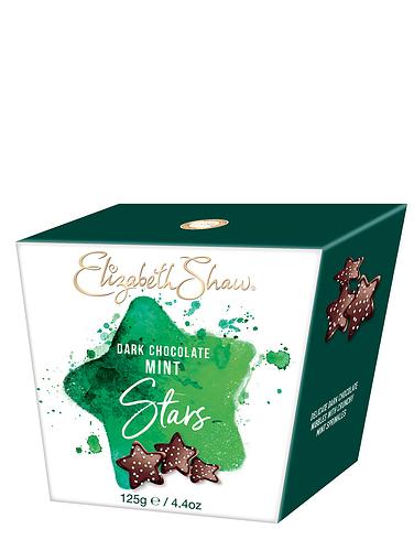 Elizabeth Shaw Dark Chocolate Mint Stars