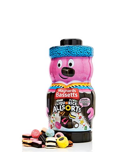 Maynards Liquorice Allsorts Jar