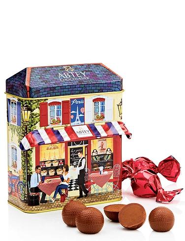Abtey Chocolate Shop Gift Tin