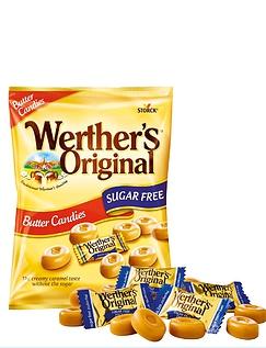 Werther's Original Sugar-Free Butter Candies
