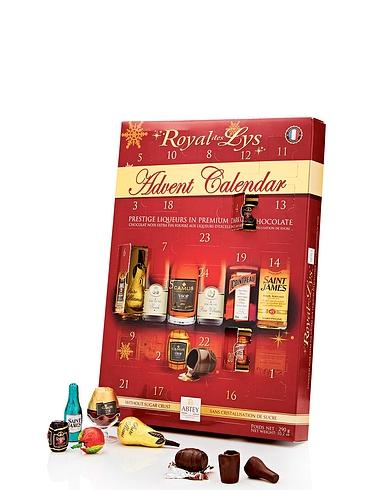 Abtey Chocolate Liqueur Advent Calendar