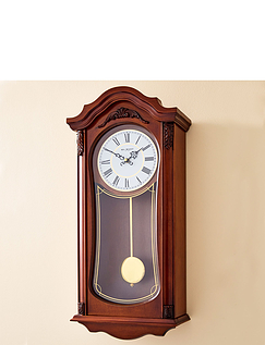 Wooden Pendulum Clock with Westminster Chime