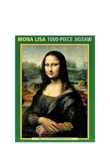 Mona Lisa 1000 Piece Jigsaw