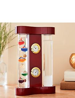 Galileo Thermometer & Storm Glass