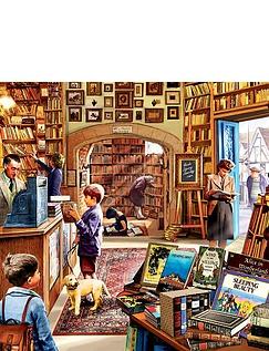 Ye Olde Bookshoppe 1000pc Jigsaw