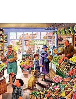 Ye Olde Greengrocer Shoppe 1000pc Jigsaw
