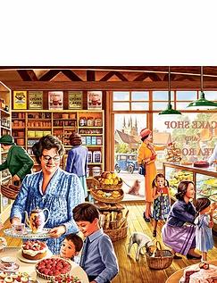 Ye Olde Cake Shoppe 1000pc Jigsaw