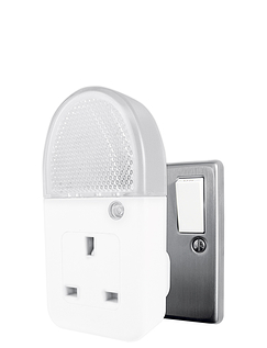 Low Consumption Night Light With Socket