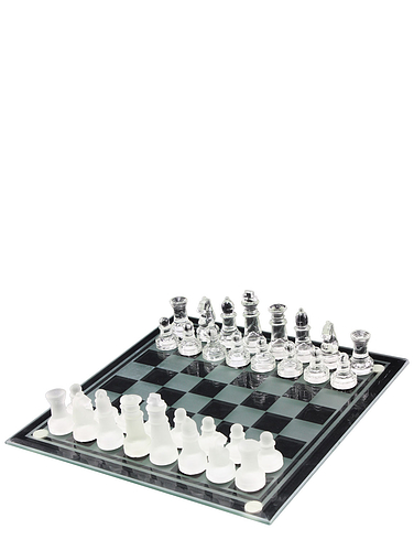 Wooden Chess Set with FREE Drafts set