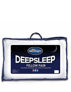 Silent Night Deep Sleep Pillow Pack of 2
