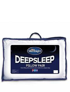 Silent Night Deep Sleep Pillow Pack of 2
