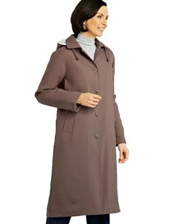 Fleece Lined Showercoat 45 Inches