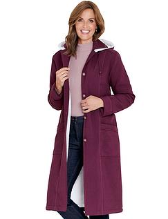 Ladies Fleece Lined Showercoat