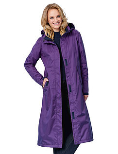 Waterproof And Breathable Fabric Jacket Length 44 Inches