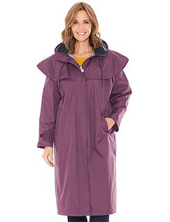 Waterproof Cape Shoulder Long Coat
