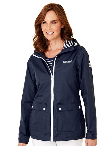 Regatta Waterproof Jacket With Stripe Trim