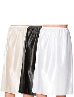 Pack of 3 Waist Slips - 24 inches - Assorted