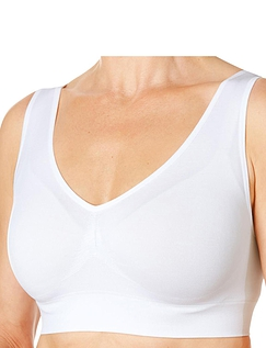 Pack Of Three Comfort Bras By Eden House