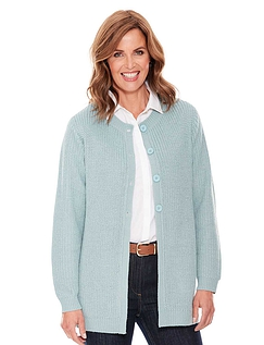 Cable Back Cardigan