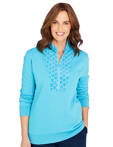 Lace Front Leisure Top