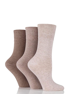 Ladies 6 Pack Diabetic Socks