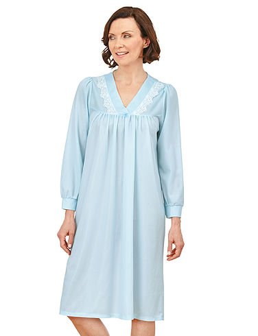 Brushed Polyester Nightdress