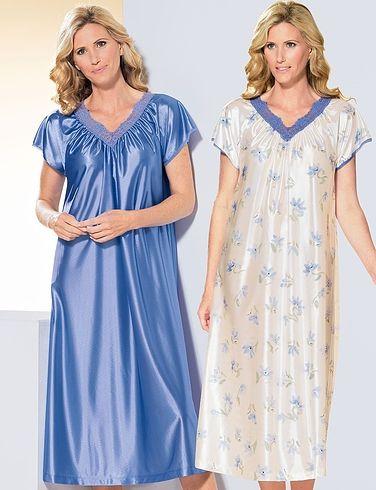 Pack of 2 Short SleeveNightdresses