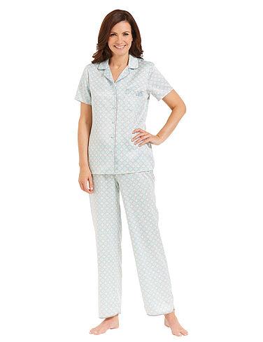 Print Satin Pyjama