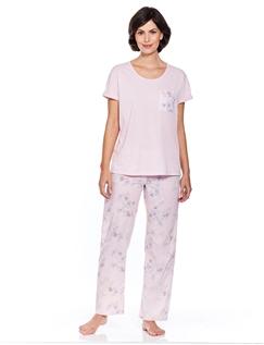 Woven And Jersey Pyjama.